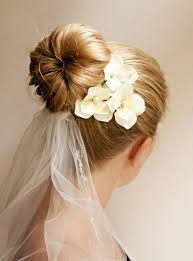 ponytails and buns u2013 simple and easy wedding hairstyles for long