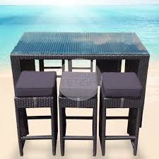 High Bar Table And Stools Charming Outdoor Furniture Bar Table With Contemporary High Bar