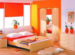 Pink And Orange Bedroom Fantastic Color Scheme For Create A Dramatic Bedroom