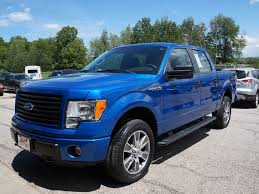 ford truck blue greg sweet ford inc ford dealership in north kingsville oh