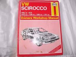 vw scirocco haynes owners workshop manual in chandlers ford