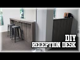 Building A Reception Desk Our Diy Receptionist Desk Personal Studio Ascension
