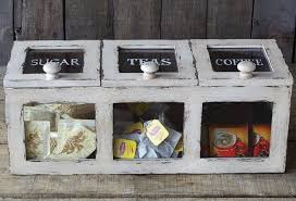 kitchen tea coffee sugar canisters coffee tea sugar storage bin an original way to store your