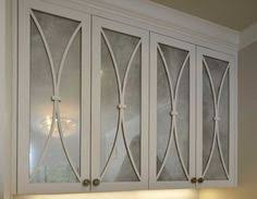 Kitchen Cabinet Doors Glass The Frosted Background Of Our Silhouette Glass Cabinet Insert Is