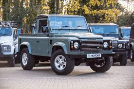 land rover defender 90 for sale second hand land rover defender 90 pickup great spec vat for sale