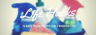 15 Ways To Clean With by Life Hacks 15 Ways To Use Dropps 4 In 1 Booster Pacs U2013 Dropps