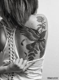 on shoulder blade for females best tatto 2017