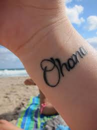ohana means family family means no one gets left or