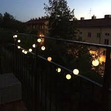 solar powered balcony lights 8139