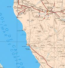 Mexico Maps Map Of Sonora Mexico My Blog