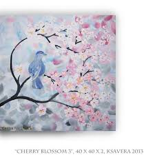 cherry blossom painting acrylic search brush strokes