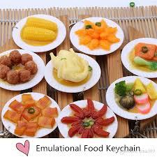 asian dish ring holder images New fashion emulational food keychain big dish simulation key jpg