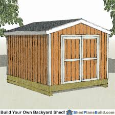 Making Your Own Shed Plans by 10x12 Backyard Shed Plans Build Your Own Backyard Shed