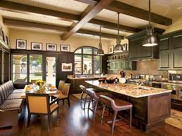 in demand open dining room feat spanish style kitchen added