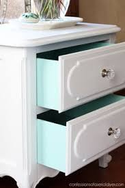 modern painted nightstands with country chic paint nightstands