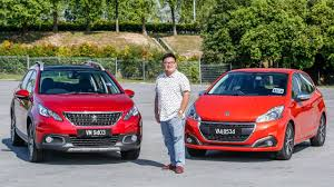 persho cars review 2017 peugeot 208 and 2008 1 2 puretech in malaysia youtube