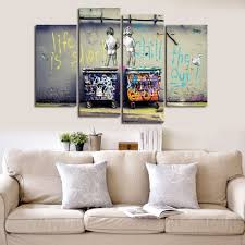wonzom large banksy canvas prints