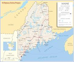 Map Of 50 States by Map Of Maine