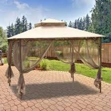 Replacement Awnings For Gazebos Amazon Com 10 U0027 X 12 U0027 Mosquito Netting For Gazebo Canopy Patio