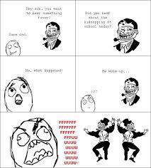 Meme Comic Funny - rage comic trolldad strikes again