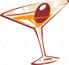 martini rosso glass martini glass stock vector illustration and royalty free martini