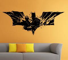 batman home decor batman wall vinyl decal the dark knight sticker superhero atr home