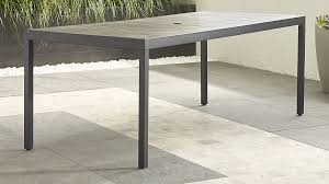 Dining Tables Grey Alfresco Ii Grey Rectangular Dining Table In Dining Furniture