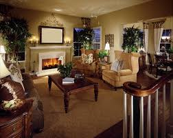 Living Room Colors With Brown Furniture This Living Room Space Is Flooded With Natural Light Highlighting