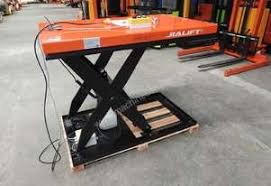 used electric lift table scissor lift tables largest choice of new used in australia