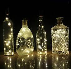 hobby lobby battery fairy lights amazon com cosoon set of 6 wine bottle cork lights copper string