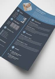 Flat Resume Design Free 3 Color Flat Resume Template U0026 Cover Letter For Graphic