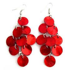 chandelier earring citrine shell chandelier earring mop shell dangle earrings