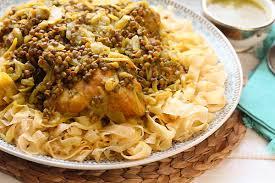 maroc cuisine traditionnel rfissa au poulet recette de la cuisine marocaine traditionnelle