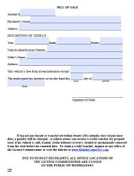 Printable Bill Of Sale For Car by Free Mobile County Alabama Bill Of Sale Form Pdf Word Doc