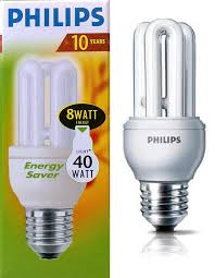 10 pack philips genie 8w u003d40w energy saving light bulbs b22