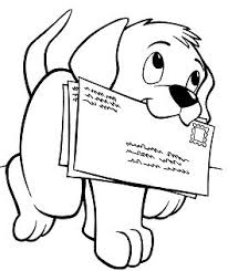 cute puppy sitting coloring page free coloring pages online