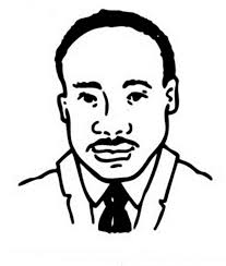 free printable martin luther king coloring pages martin luther king jr a head caricature of martin luther king