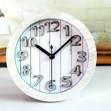 Vintage Home Decor Australia Retro Vintage Style Famous Motto Desk Clock 3d Pearls Alarm Table