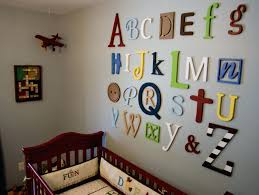 wall ideas alphabet wall art personalized alphabet wall art