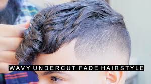 haircut for men with curly hair wavy undercut hairstyle for men with curly hair cool fade