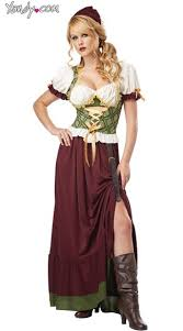 Maid Halloween Costumes Wench Costume Tavern Maid Halloween Costume Tavern Wench Costume