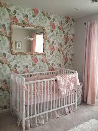 Pink Nursery Curtains by Vintage Nursery Girls Nursery Pink Nursery Nursery Decor