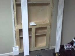 the hidden bookcase door bt productions youtube