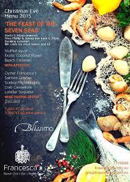 christmas eve dinner u201cthe feast of the seven seas u201d