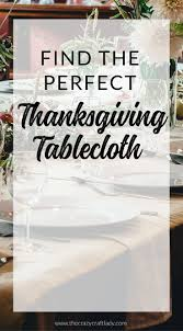 find the thanksgiving tablecloth diy ideas and sources