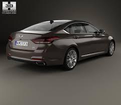 2015 Hyundai Genesis Interior Hyundai Genesis Dh With Hq Interior 2014 3d Model Hum3d
