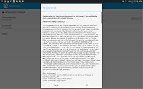android license connecting with cisco anyconnect android it services usc