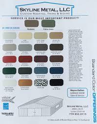 color selection color options available la jara co