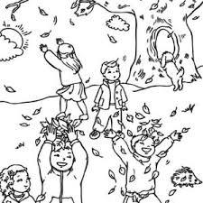 print coloring fall tree coloring sheet 1835