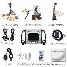 2006 2012 hyundai santa fe aftermarket android 7 1 1 hd 1024 600